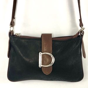 Borse In Pella Leather Cross Body Bag